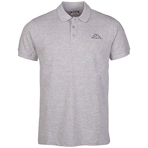 Kappa Polo Peleot Shirt, 19M grau (grey melange), XXL, 303173