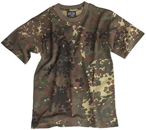 Mil-Tec T-Shirt Kids Flecktarn Gr.L