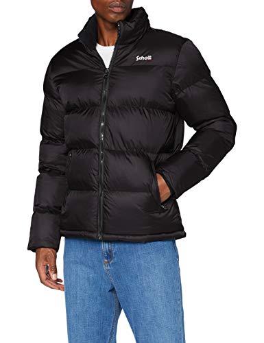 Schott NYC Idaho Chaqueta, Negro, Large para Hombre