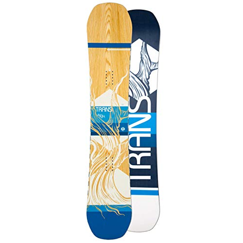 Unbekannt Herren Freestyle Snowboard Trans Ultra Light Wood Maple 2019~151 cm