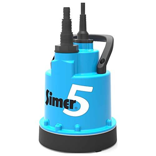 Jung Pumpen Flachabsaugende Pumpe Simer 5 ab 5mm bis 2mm Ständerpumpe 7630014595105