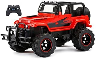 New Bright 1:15 RC Chargers Red Jeep Wrangler