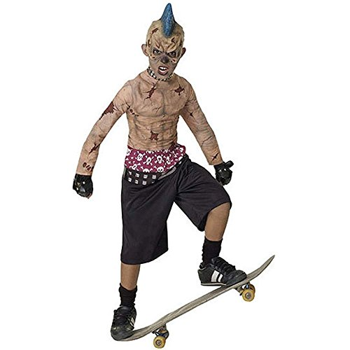 Rubies Costume Co 17795 Zombie Skate Punk enfant Taille du Costume grands-Boys 12-14