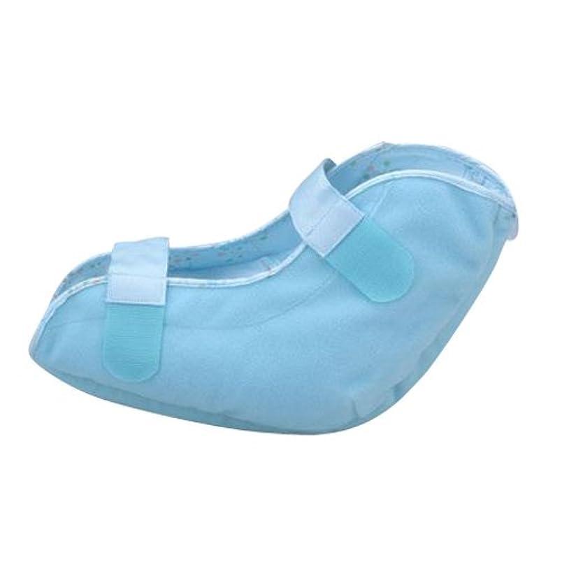 鉛用語集枕洗える通気タイプ かかと用パッド(1個入り) 1663 ブルー
