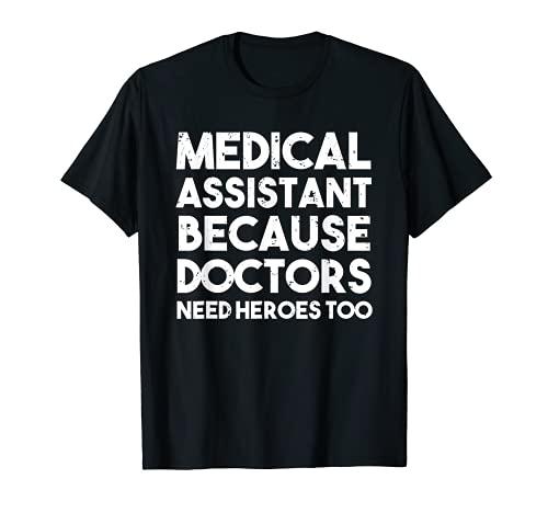 医者にはヒーローが必要だから医療助手 Tシャツ