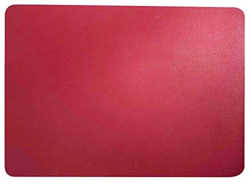 ASA Selection Tischset 33x46cm in Lederoptik Magnolie (4 Stück)
