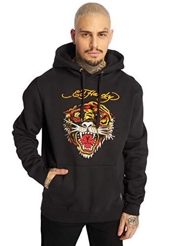 Ed Hardy Herren Hoodies Tiger schwarz S