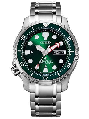 Citizen Promaster Automatic Diver Herrenuhr Titan Grün NY0100-50X