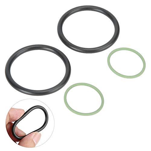 Junta tórica de solenoide resistente al desgaste, solución ideal Fabricada en caucho La válvula electromagnética La solución es fácil para Vanos N40 N42 N46 N45 (verde)