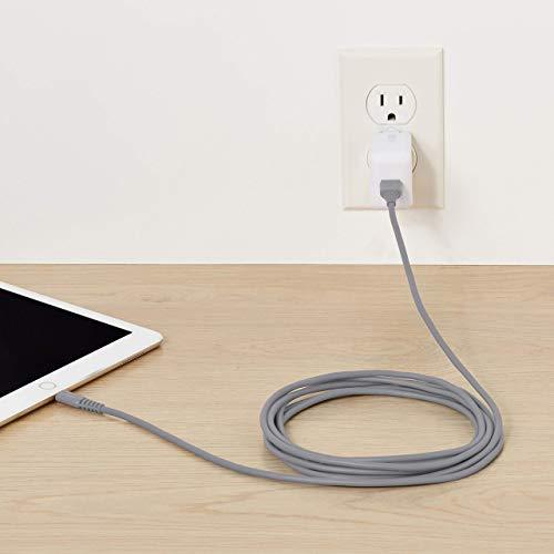 Amazon Basics Lightning auf USB A Kabel, Apple MFi Zertifiziert - Grau, 1,8 m, 1er Pack