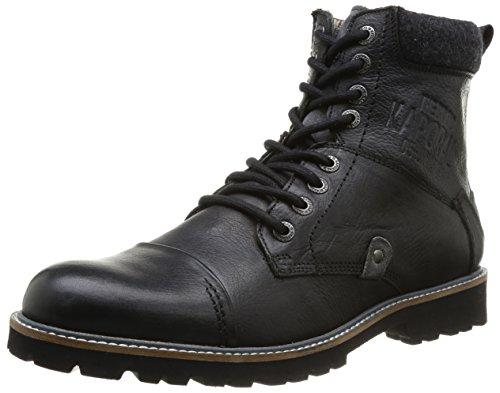 Kaporal Walkey, Boots homme - Noir (8 Noir), 44 EU