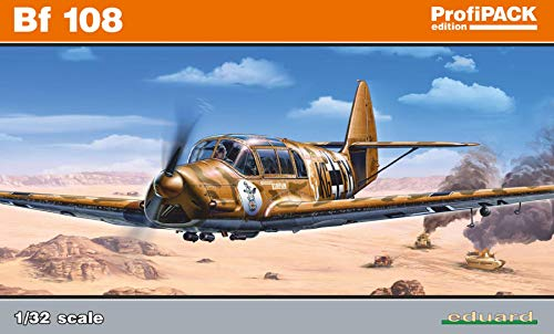 エデュアルド 1/32 プロフィパック ドイツ空軍 メッサーシュミットBf108 タイフン プラモデル EDU3006