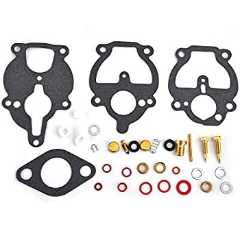 Carburetor Repair Rebuild Kit Compatible with Zenith 61 161 67 68 Carb K2112 IH