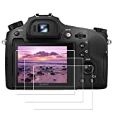 The tempered glass screen protector is very suitable for Sony Alpha RX10IV RX10III RX10 Mark IV III RX10M3 RX10M4 A7SIII A7SII A7RIV A7RIII A7III, not suitable for A7 A7R A7S. Edge to edge, easy to install. 9H hardness, longer tempering time, with 6 ...