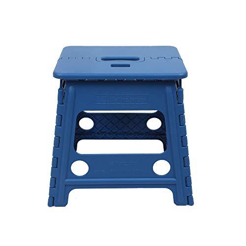 折りたたみ椅子 チェア ステップ 踏み台 折りたたみはしご 軽便 持ち運び 便利 オートロック 滑り止め 収納スツール Mサイズ