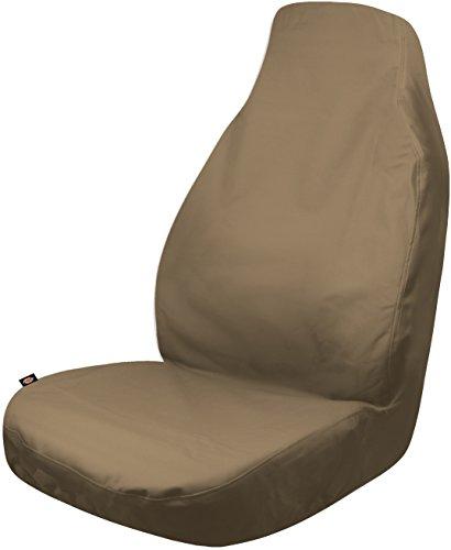 Dickies 3001683 Heavy Duty Waterproof Bucket Seat Cover, Tan