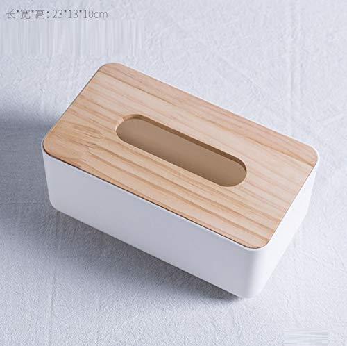 Skulptur Figur Dekoration Europäische Stil Tissue Box Zuhause Wohnzimmer Couchtisch Dekorationen Ornamente Tee Shop Restaurant Tisch Kreative Multifunktionsmöbel, Quadratische Weiße Tissue Box