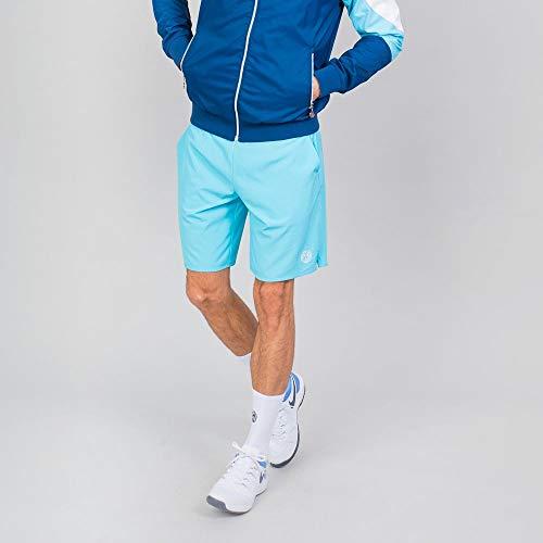 BIDI BADU Herren Sport Shorts Kurze Trainingshose Schnelltrockende Tennisshorts Blau - Henry 2.0 Tech Shorts - Aqua, Grˆfle:XL