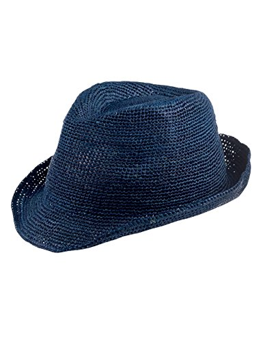 CAPO Unisex Fedoras Rio Melange Hat, Blau (Blue Lagoon 14), Large (Manufacturer Size:L/XL)