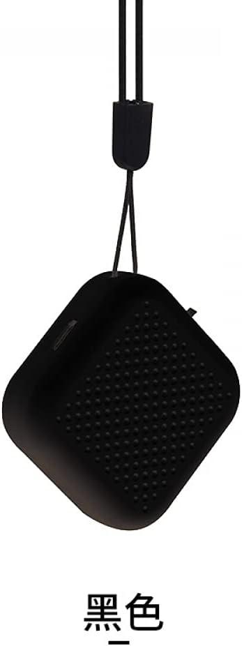 plhzh Purificador De Aire De Cuello Colgante Portátil Pequeño Mini Collar Portátil De Iones Negativos Que Se Puede Usar Además del Humo De Segunda Mano-Black