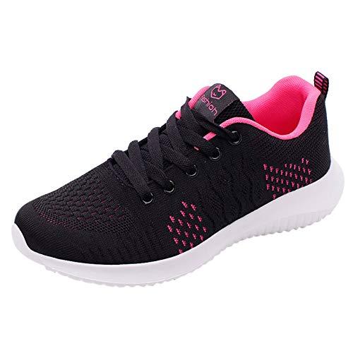 JDGY Hardloopschoenen voor dames, gymschoenen, outdoor, loopschoenen, zomer, vrijetijdsschoenen, ademende sportschoenen…