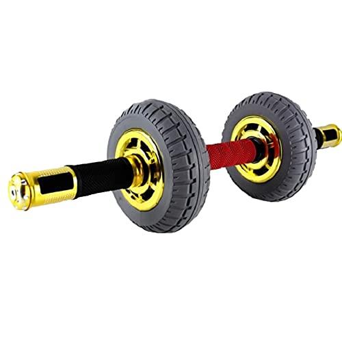 Material de gimnasio Rueda de rodillo AB para ejercicio abdominal, ruedas abdominales auto-resilientes, ruedas gigantes para rodillos de entrenamiento abdominal, equipo de fitness para el hogar de los