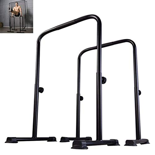 N/Z Home Equipment Fitness Indoor Split Parallel Bars Adjustable Pull up Equipment Multi function Equipment Horizontal Bar Strength Training Equipment