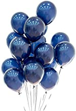 Blue Balloons 12 inch 50pcs Latex Navy Blue Balloons Kids Birthday Party Balloons Helium Balloons