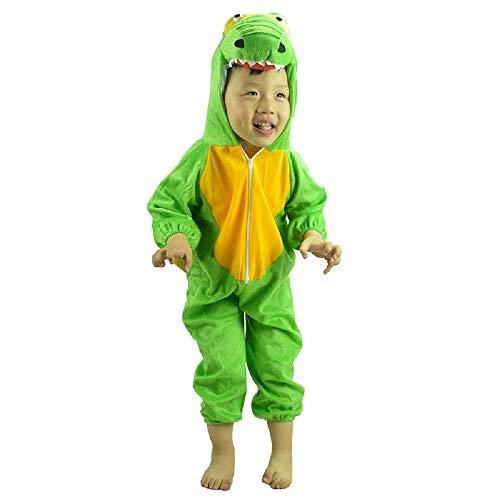 Disfraz de dinosaurio - 4/5 años - disfraces para niños - halloween - carnaval - niña - niño - unisex - cosplay - talla l - idea de regalo original cosplay