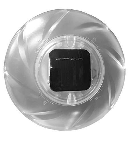 Well2wellness LED Solar - Schwimmlampe voor Zwembaden, Whirlpools + Tuin (022882)