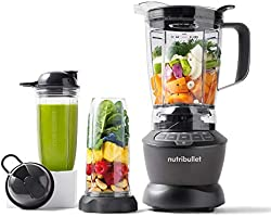 NutriBullet ZNBF30500Z Blender Combo 1200 Watt, 1200W, Dark Gray