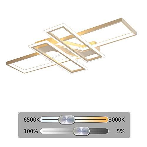 LED Lampara de Salon Moderno Luz de Techo Regulable Diseño Con Mando a Distancia Araña de Techo Chic Luz de Techo Iluminación Sala de Estar Dormitorio Restaurante La cocina Luz Pantalla Acrilica