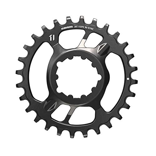 Sram X-SYNC 2 Steel Direct Mount 6mm Offset Eagle, Corona. Unisex-Adulto, Nero, 32 denti