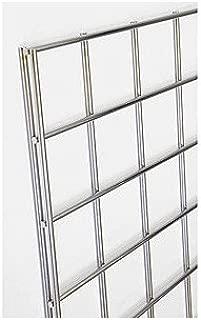 Count of 3 New Retails chrome Gridwall panel 2 feet width x 6 feet height