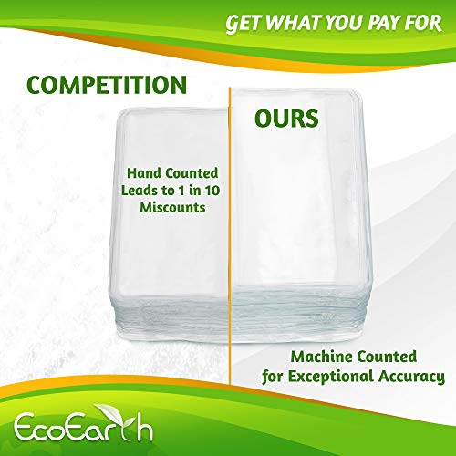 EcoEarth Horizontal Vaccine Card Protector (Sealable 4x3 Inch, 250 Pack), Waterproof ID Holder, ID Card Holder Bulk, Name Badge Holder, Name Tag Holder, Plastic Badge Holder, Clear Card ID Badge Photo #3