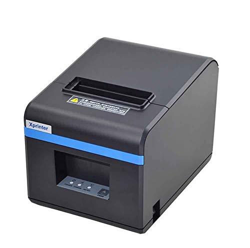 SDZSH 80MM POS Imprimante à reçu Thermique, avec Port USB Thermique Calibration Automatique Imprimante de Codes à Barres pour Restaurant, Boutique, Organisation de la Maison et du Bureau