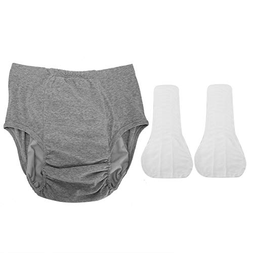 Eurobuy Mens Incontinence Underwear Comfortable Breathable and Elastic Pregnant Women Panties for Elderly Patients Pregnant Women