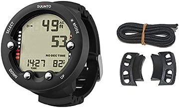 Suunto Zoop Novo Black Dive Computer Watch & Vyper Novo Bungee Adaptor Kit