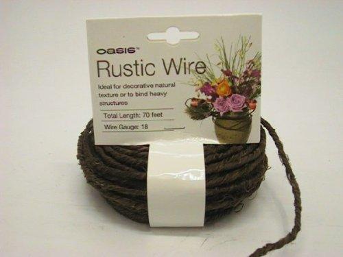 Bellaflor Oasis® Grapewine Wire BRAUN 40-77777 1,2 mm x 22 mtr.
