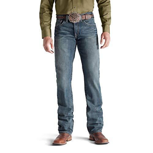 ARIAT Men's M5 Slim Deadrun Stackable Straight Leg Jean Size 35W X 30L