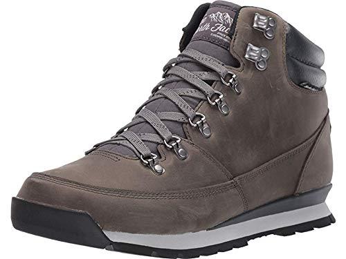 The North Face M B2b Redux Leather, Chaussures de Randonnée Hautes Homme, Gris (Zinc Grey/Ebony Grey H73), 43 EU
