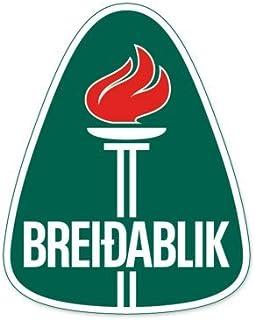 UMF Breidablik - Iceland Football Soccer Futbol - Car Sticker - 5