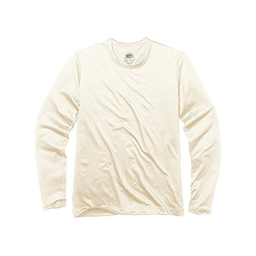 Duofold by Champion Varitherm Mid-Weight 2-Layer Boys' Thermal Shirt_Pearl_L