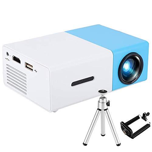 【2020 Nueva Versión】 Mini Proyector - 3000 Lúmenes Portátil Full HD 1080P Soporta Proyectores Cine en Casa con Audio Hi-Fi Pantalla 100