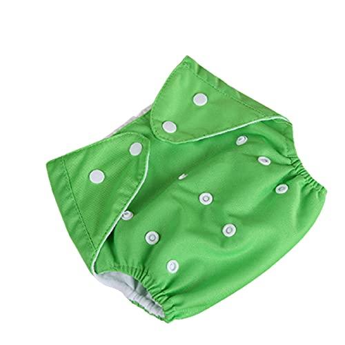 Diapers Soft Cloth Diapers One Size Adjustable Washable Reusable for Baby Girls and Boys Soft Pañales de tela Talla Única Ajustable Lavables Reutilizables para bebés y niños Diseño de hebilla