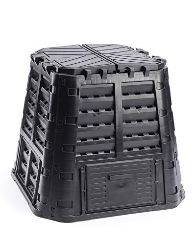 myGardenlust Komposter - Schnellkomposter aus Kunststoff - Thermokomposter als praktisches Stecksystem - Kompostierer stabil und hochwertig - Composter für Garten-Abfälle