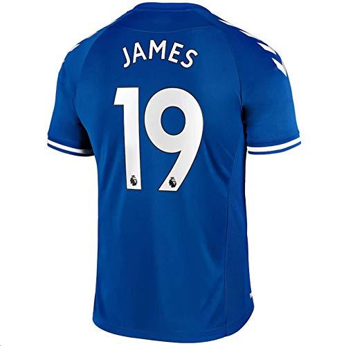 Fimng 2020-2021 Men's Home Soccer Jersey/Short Colour Blue (Everton J.Rodríguez #19 (XL))