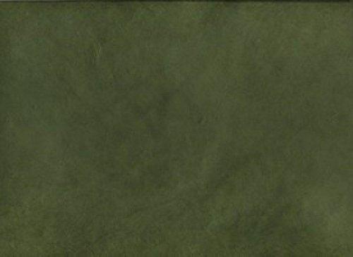Lamali 24323 handgeschept papier, 75 x 50 cm, dennengroen