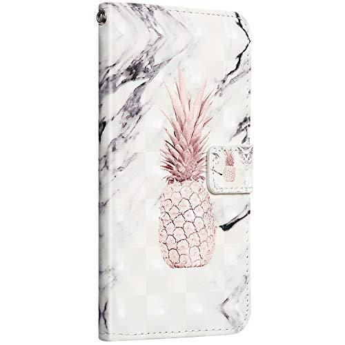 Saceebe Compatible avec iPhone 11 Pro Coque Étui Portefeuille Cuir Housse Coloré Motif Glitter Housse Protection Flip Case Wallet Coque avec Fonction