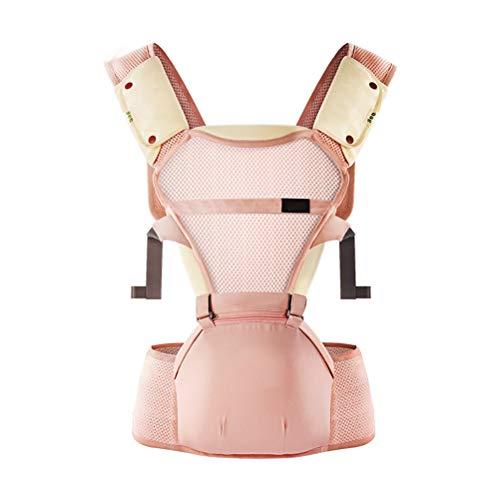 YRE Sangle pour bébé, Multi-Fonction Respirante Baby Bench Strap, Nouveau-né Doux Respirante bébé écharpe,Pink